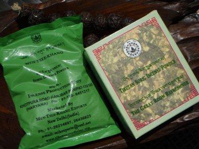 画像1: チベット医学総本山メンツィカン パウダーインセンス メンサング 20g