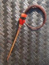 ナガ族、馬の毛つきかんざし